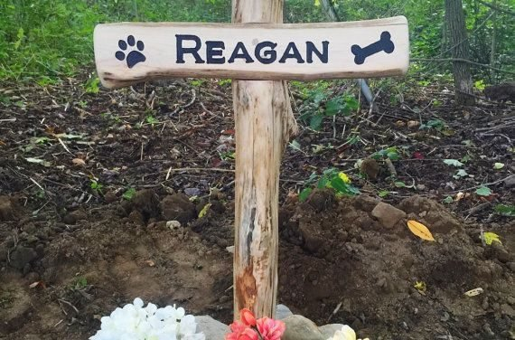 Pet Grave Marker  Dog Cat Etc. by SmittysBoysHardWoods on Etsy