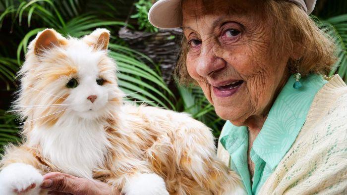 Robotic puppies and kittens trigger happy memories in dementia patients