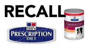 BREAKING: FDA Announces Expanded List of Recalled Hill's Prescription Diet & Science Diet Dog Food