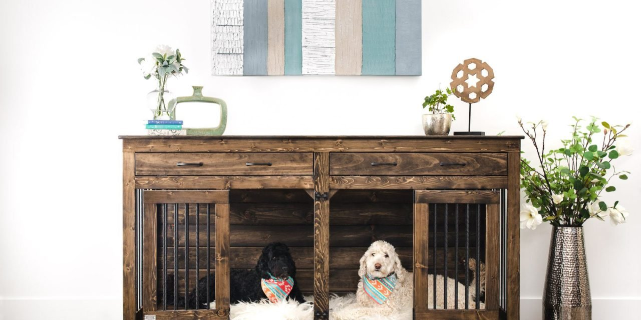 Custom wood kennels, memory foam beds: Wild world of pet furniture…