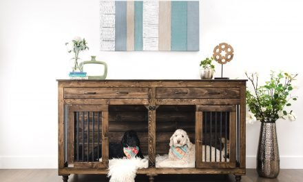 Custom wood kennels, memory foam beds: Wild world of pet furniture…