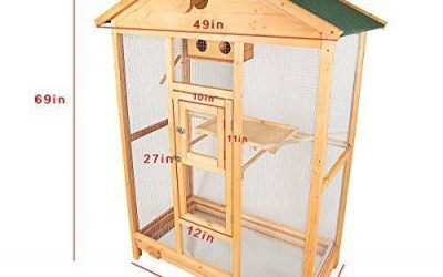 Deluxe House Shape Bird Cage with Hatch Room Best Suggestion Online Pet Retail Products – Dogs , Cats, Birds, Fish, Horses