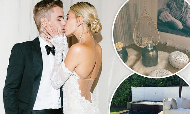 Inside Justin and Hailey Bieber's $8.5m mansion
