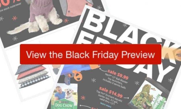 2019 Pet Smart Black Friday Ad