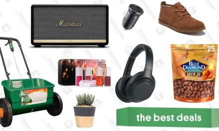 Thursday's Best Deals: Sony Headphones, a Marshall Stanmore Speaker, Ugg Boots, and More