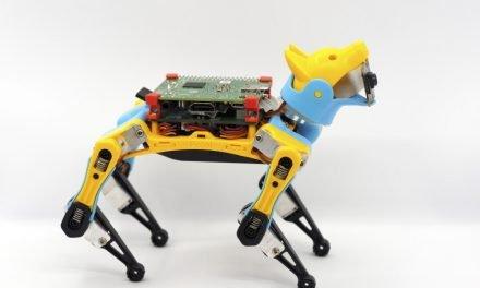 Petoi Bittle robot dog has bite