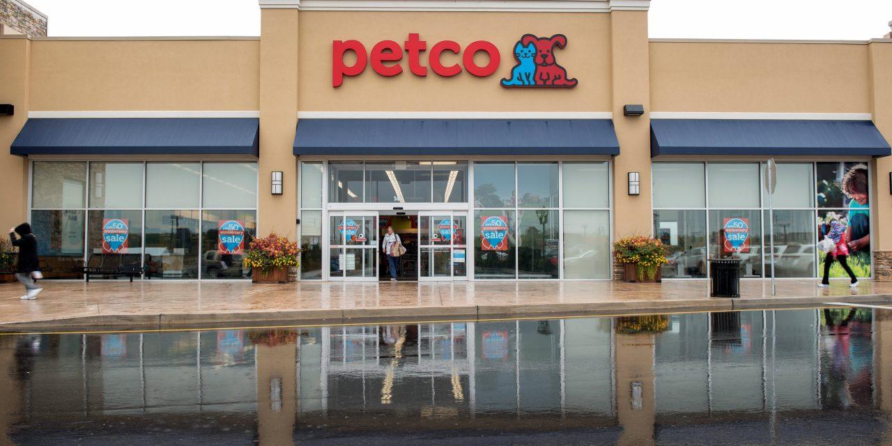 Pet care retailer Petco shares surge more than 50% as it returns to public market